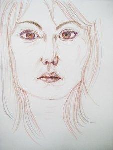 Self-portriat Kim Osborne