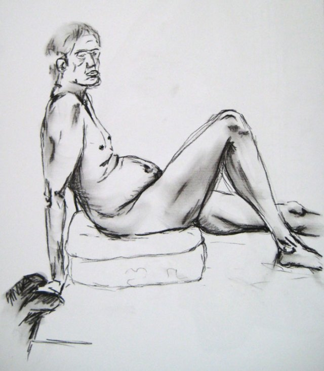 The first pose - figure drawing