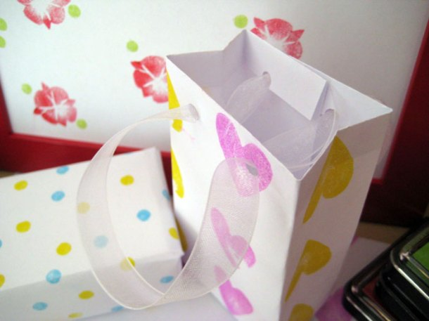 Making gift bags