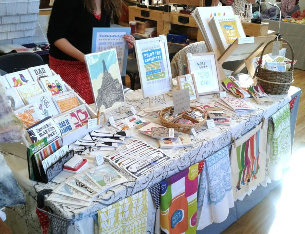 Our table at Thame craft fair