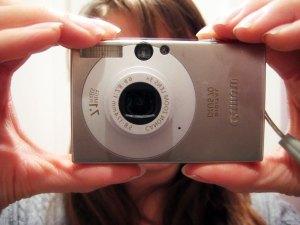 Little Canon Digital IXUS 70