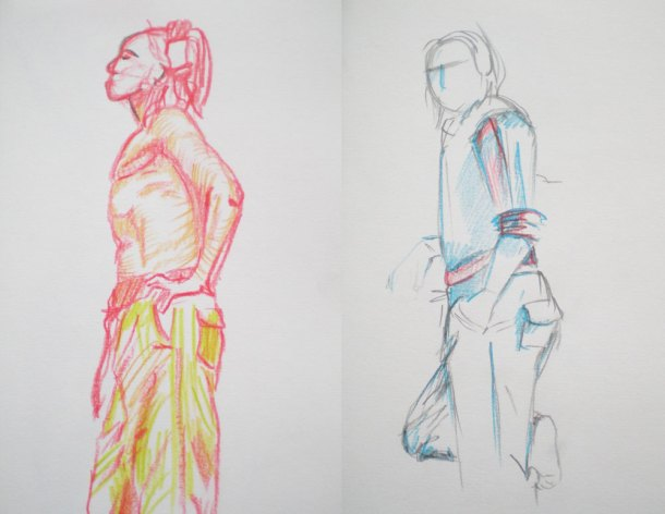 Leighton House figure drawing 3