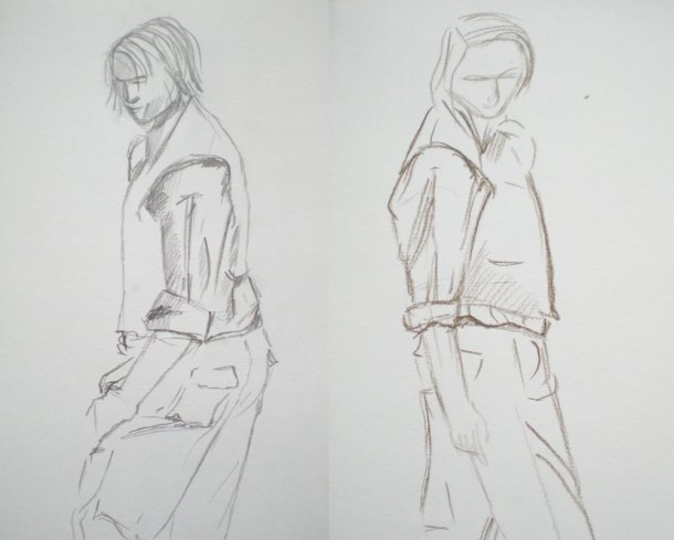 Leighton House figure drawing 2