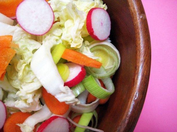 Salad - food photography