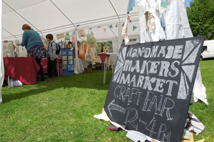Handmade Makers Market at Music in the Park