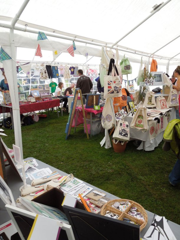 The Handmade Makers Market at Music in the Park