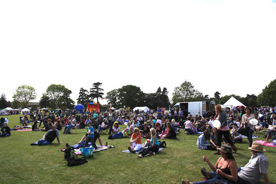 Music in the Park, Thame 2011