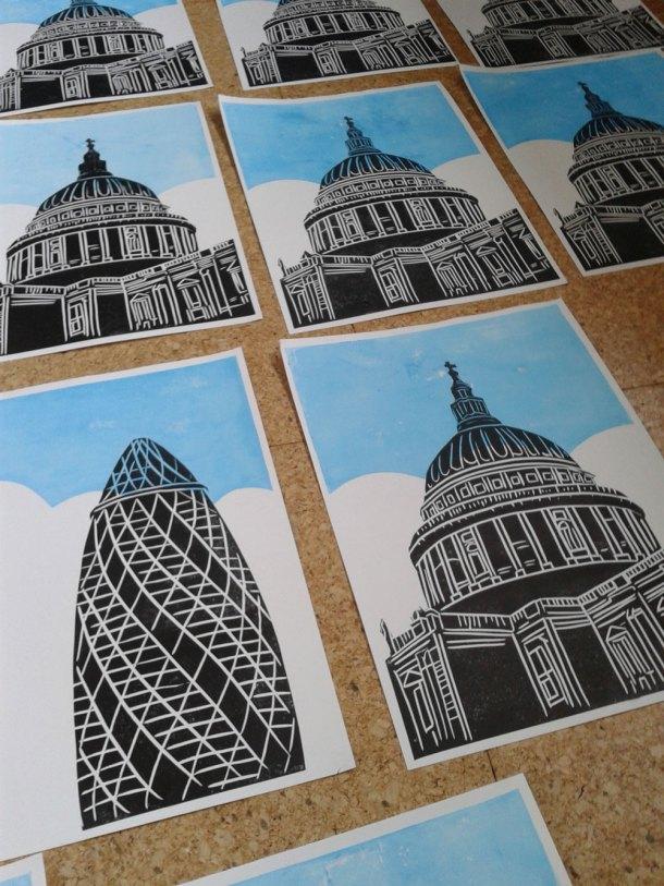 London linoprints