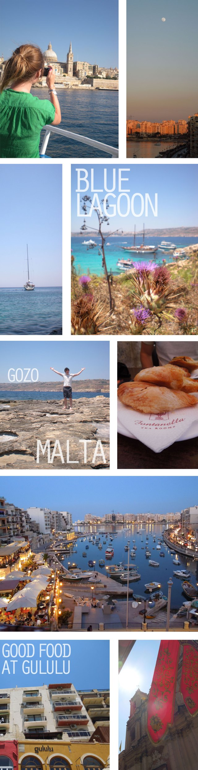 Malta photo collage