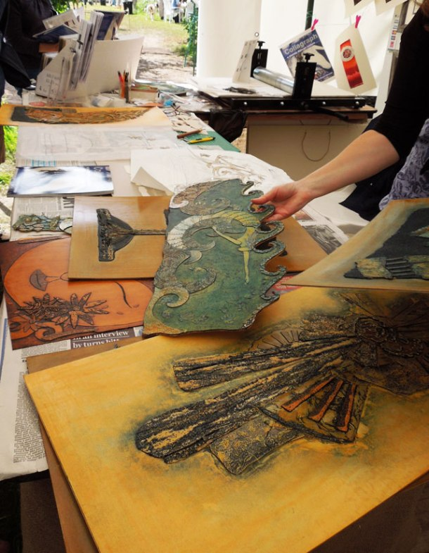 Collographic printing