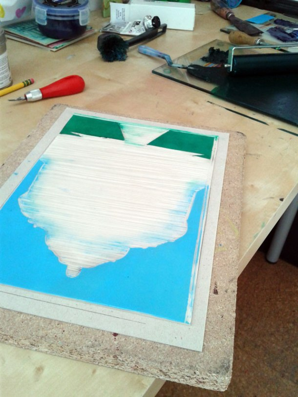 Printing first two colours