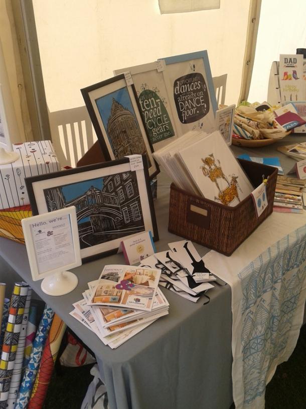 Oxford Castle craft fair