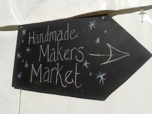Handmade makers market