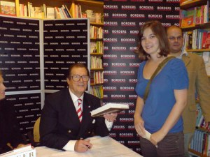 Roger Moore book signing