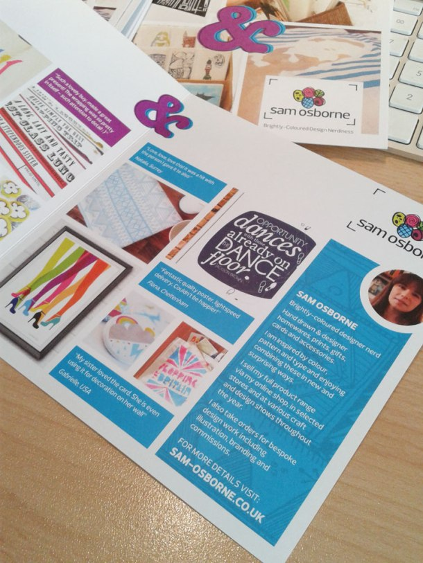 Knockout by Kim Osborne, and Sam Osborne leaflet