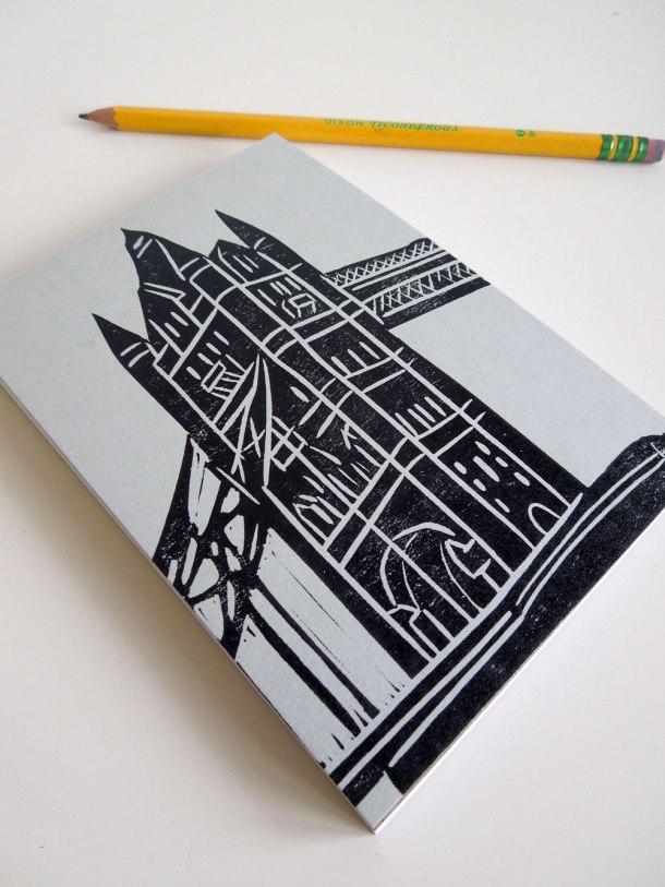 Tower Bridge notebook
