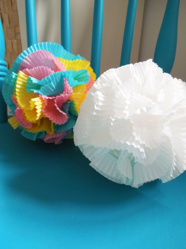 cup cake wrapper decoration