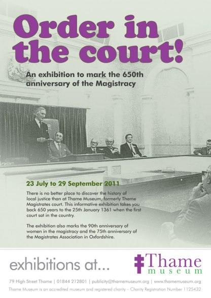 Magistracy Thame Museum