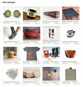 Men's gift guide - Etsy