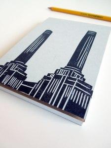 battersea power station notebook
