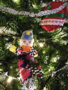 Christmas clown