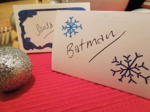chritsmas place cards free printable