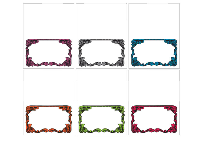 It's just an image of Free Printable Place Cards pertaining to template