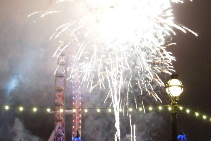New years eve London 2012