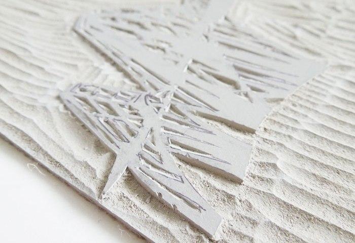 Bridge linoprint