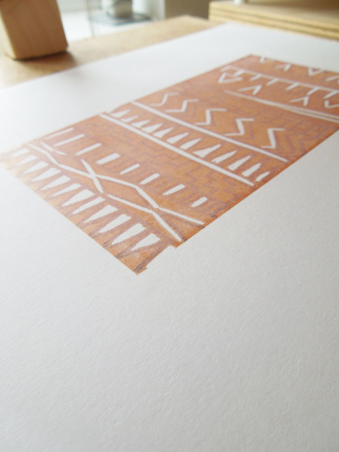 how to get permanent marker off lino
