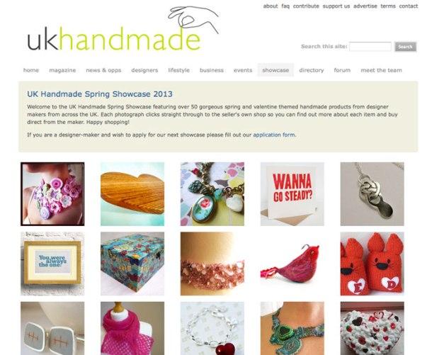 UK Handmade spring showcase