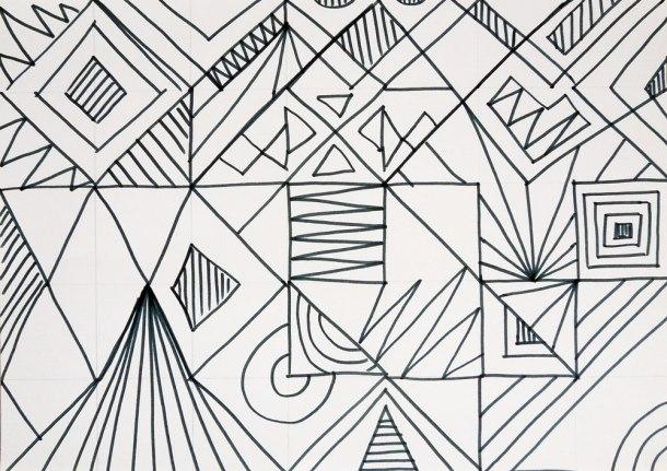 geometric pattern experiment