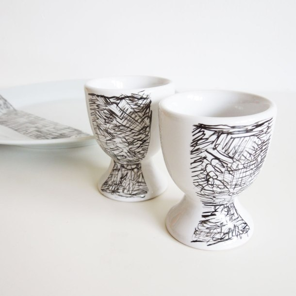 plate and egg cup tutorial