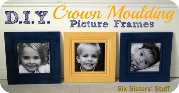 DIY+Crown+Moulding+Pic+Frames