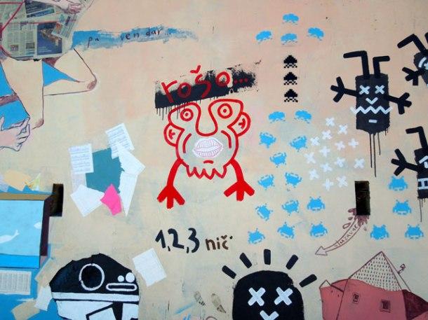 piran graffiti