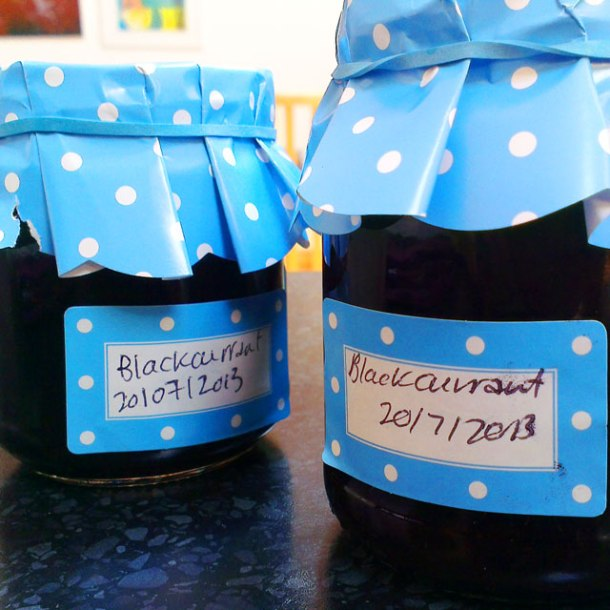 make your own jam jar lables