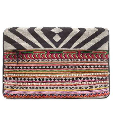 zara_zebra_tribal_print_clutch_bag