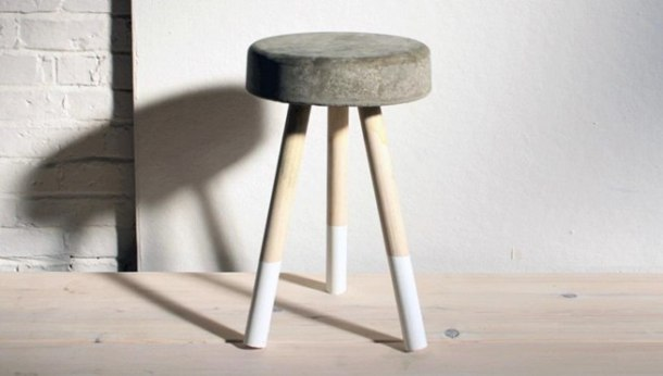 make concrete stool