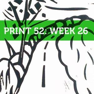 lino print week 25 print 52