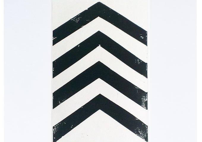 chevron linoprint