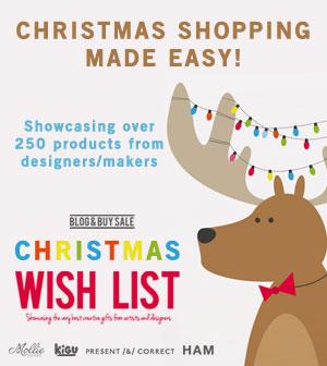 blog and buy christmas wish list