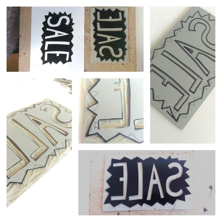 sale linoprint
