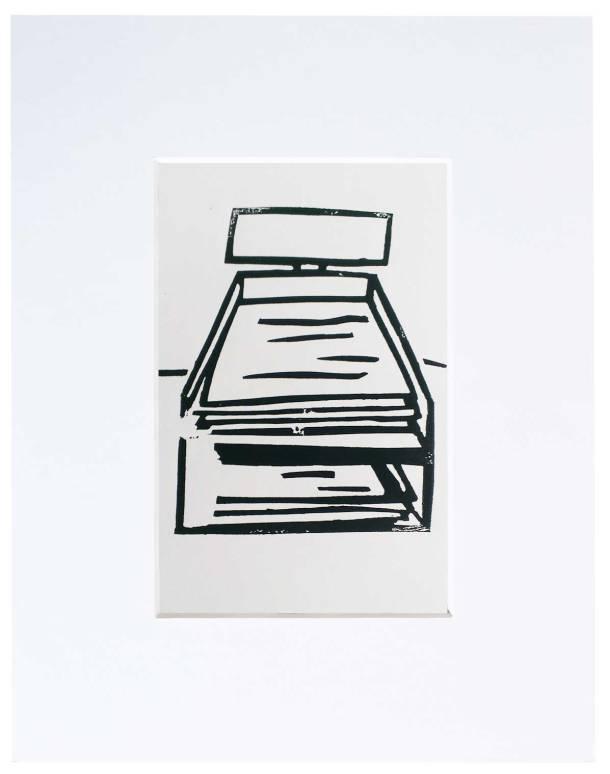lino print work