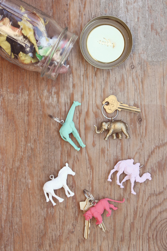 animal keyrings craft