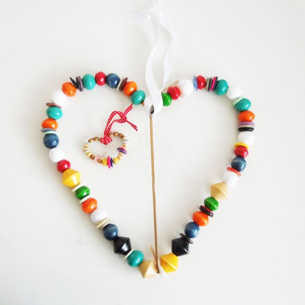 craft heart decoration