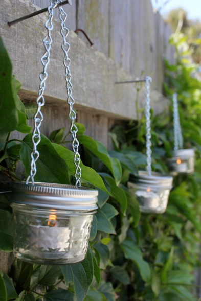 jar tea lights craft