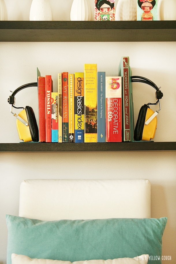 upcycled bookends