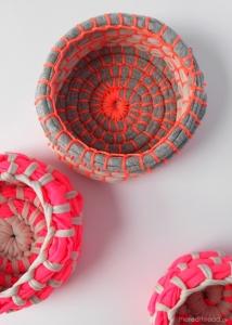 make fabric bowls