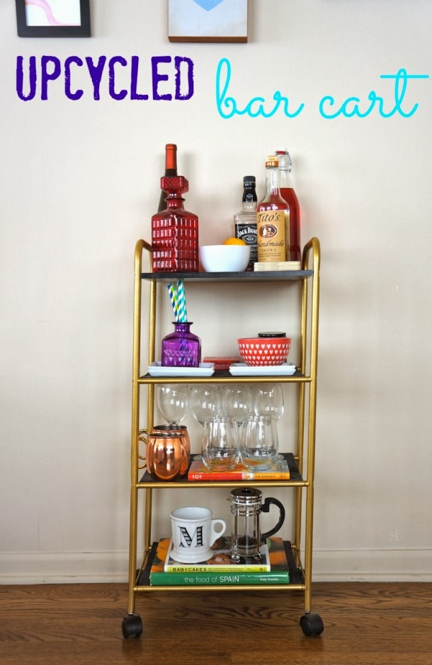 upcycled drinks trolley