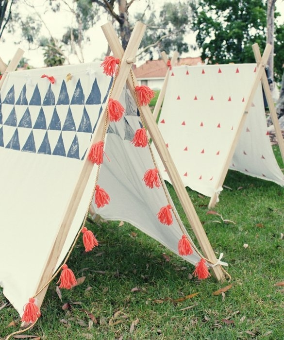make a tent